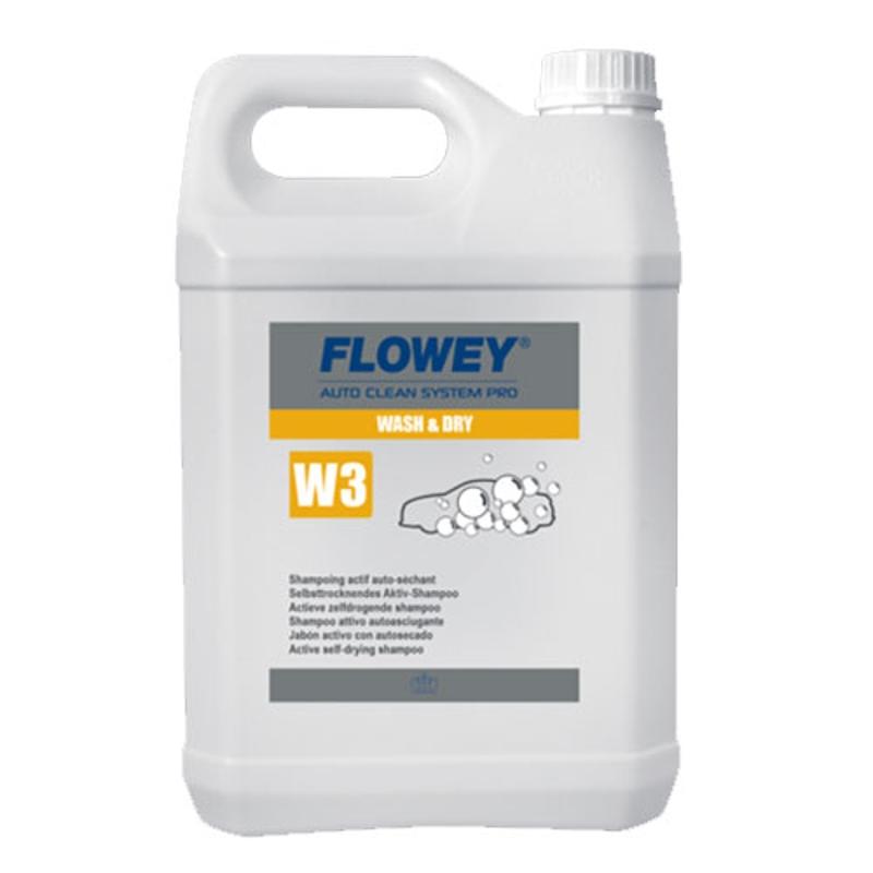 CHAMPÚ ACTIVO WASH & DRY W3 (5 L.)